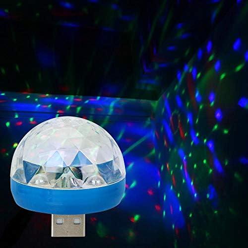 【GFA】ライト自動車の形をしたLED雰囲気のランプは自動車の内装ランプUSBクラブマジックステージの効果灯を飾ります。