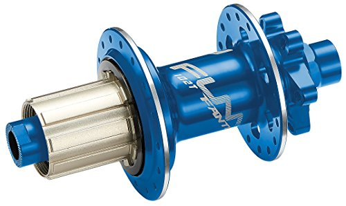 32 Hole Hub Cassette Body - Fantom AM 12x142 e-thru axle rear hub with Shimano cassette body (blue, 32H)