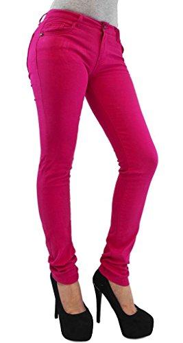 Taglia Modello A Fuchsia Da Pantaloni Leggins Elasticizzati Skinny 36 Tipo Jeans Donna 54 x8CCqwYv