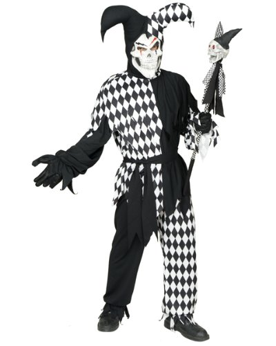 California Costume Collections CH00291-XL Evil Jester Child Costume - X-Large (Jester Costume)