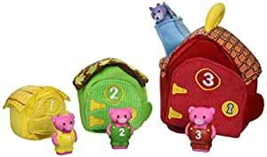 Melissa & Doug Deluxe Three Little Pigs Play Set Soft Baby Toy