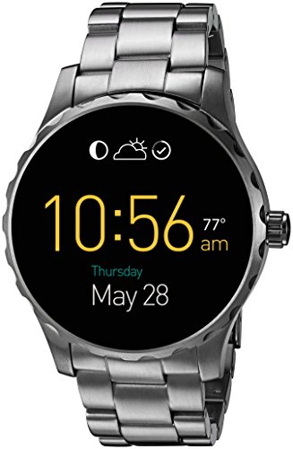 Fossil Touchscreen Gunmetal Stainless Smartwatch