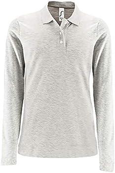 SOLS Womens//Ladies Perfect Long Sleeve Pique Polo Shirt
