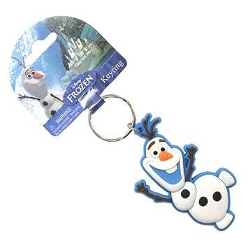 Frozen Olaf el muñeco de nieve Soft Touch Llavero: Amazon.es ...