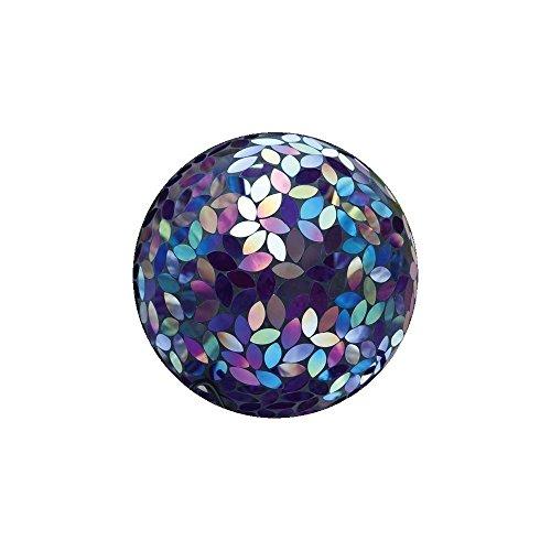 Evergreen Garden Flower Petal Mosaic Gazing Ball (Gazing Globe)