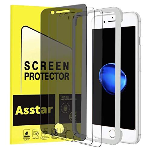 iPhone 8 7 6S 6 Plus Privacy Screen Protector, Asstar    Tem