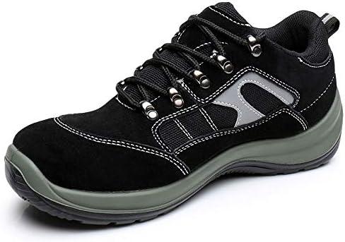 安全靴 作業靴 先芯入り メッシュ 通気性 ワーキングシューズ 耐油 耐滑 耐磨耗 衝撃吸収 メンズ レディース 001