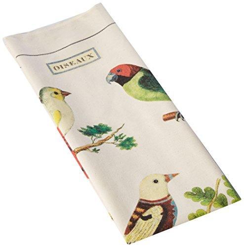 Cavallini Papers Vintage Birds Cotton Tea Towel