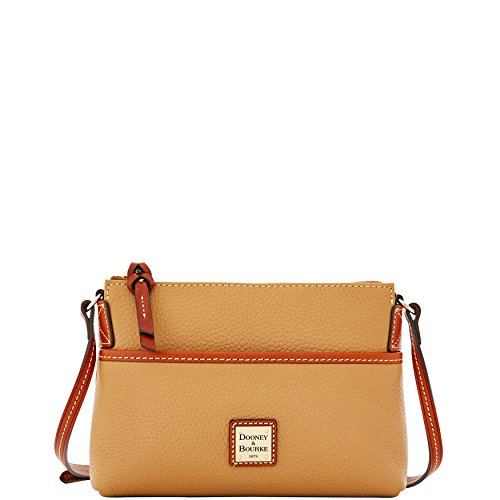 Designer Handbags Dooney (Dooney & Bourke Ginger Cross-Body Pouchette Desert Tan)