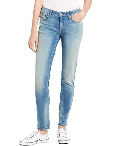 (Calvin Klein Women's Skinny Jean, Bottle Blue, 29x32)