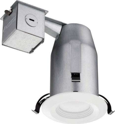 - Lithonia Lighting LK3BPMW LED M4 Recessed Kit