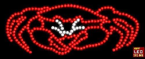"12""x24"" Crab Logo LED Sign"