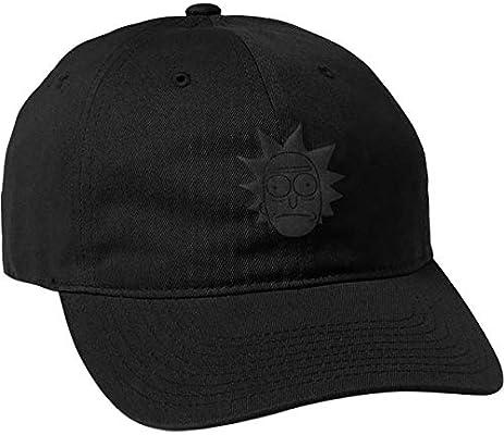 51bc2f9ca6a Amazon.com  Primitive R M Rick Puff HAT ADJ-Black  Sports   Outdoors