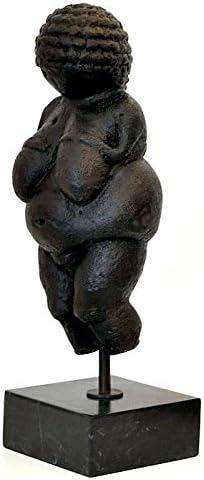 augustandmarch M/ÄCHTIGE BRONZESKULPTUR Figur Venus VON Willendorf Frau Limitierte SKULPTUR MODERN Art Bronze SKULPTUR H/ÖHE:45cm