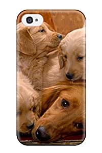 New Diy Design Cat And Dog For Iphone 4/4s Cases Comfortable For Lovers And Friends For Christmas Gifts