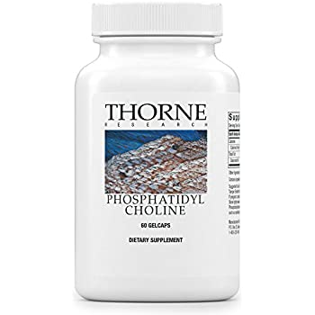 Thorne Research - Phosphatidyl Choline - Phospholipid Complex for Cell Membrane Support - 60 Gelcaps