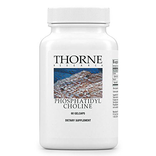 Thorne Research – Phosphatidyl Choline – Phospholipid Complex for Cell Membrane Support – 60 Gelcaps