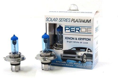95-03 Land Rover Discovery PERDE Xenon H4 9003 Headlights Light Bulbs Diamond White 6000K