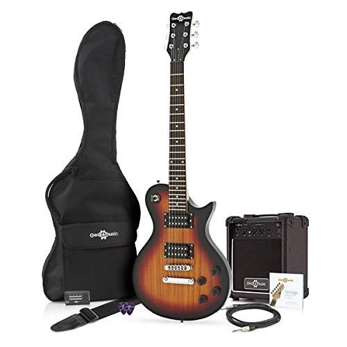 Guitarra Eléctrica New Jersey II 3/4 + Paquete de Amplificador de 10 W Sunburst: Amazon.es: Instrumentos musicales