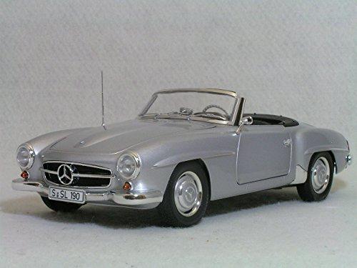 1/18 メルセデスベンツ 190SL(W121) 1955 シルバー 100037031