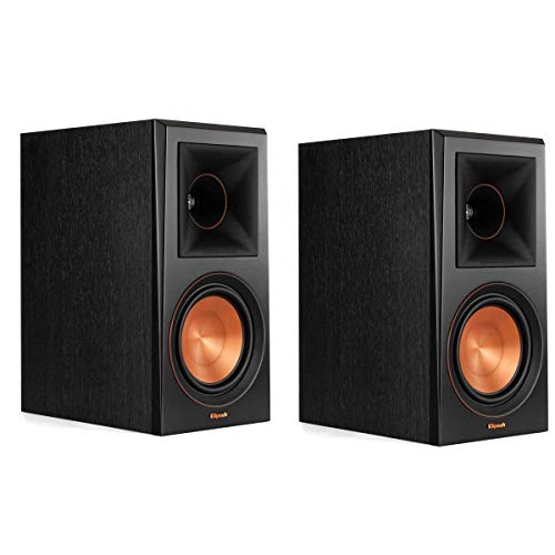 Klipsch RP-600M Reference Premiere Bookshelf Speakers – Pair (Ebony) (Renewed)
