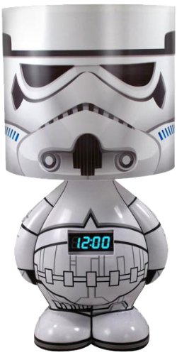 Stormtrooper Character Lamp with Alarm Clock