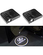 ZNYSTAR Universal Wireless LED Car Door Welcome Light Projector Ghost Shadow Lamp Black