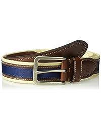 Tommy Hilfiger - Cinturón de tela informal para hombre