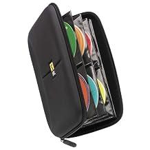 Case Logic CDE-48 Heavy Duty CD Wallet, Capacity 48 (Black)