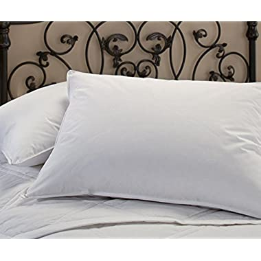 Clearance Sale - Five Star Hotel Bedding Collection - Luxury Soft Hypoallergenic White Down Pillow - Made in the USA (King 20  x 36 )