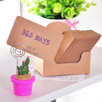 100 piezas clubking samfme twistfix marcapáginas de cartón etiquetas de tarjeta regalo de boda tarjeta de del mensaje 88ba53