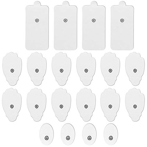 20 Pieces TENS Electrodes Pad Replacement Pad for TENS Unit TENS Electrode Pad