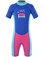 Board Masters VW Boys 2mm Shorty Wetsuit - Kids Summer Wetsuit with UPF 50+ Protection