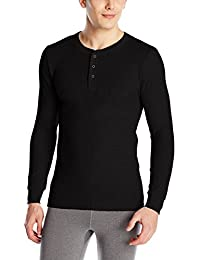 Men's Classics Midweight Waffle Thermal Henley Top