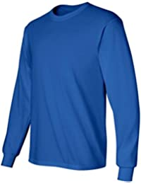 Gildan Men's Ultra Cotton Long Sleeve Crewneck T-Shirt