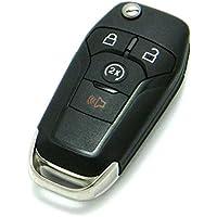 OEM Ford 4-Button Flip Key Fob Remote with Remote Start (FCC ID: N5F-A08TDA, P/N: 164-R8134)