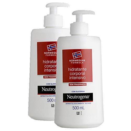Kit com 2 Hidratantes Corporal Neutrogena Norwegian Body s/Fragrância 500ml