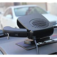 USA Premium Store 2 in 1 Car Portable Ceramic Heating Cooling Heater Fan Defroster Demister DC 12V