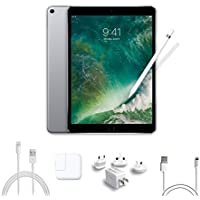 2017 New IPad Pro Bundle (4 Items): Apple 10.5 inch iPad Pro with Wi-Fi 64 GB Space Gray, Apple Pencil, Mytrix USB Apple Lightning Cable and All-in-One Travel USB Charger