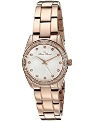 Lucien Piccard Womens LaBelle Quartz Stainless Steel Watch (Model: LP-40023-RG-22)