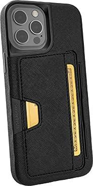 Smartish iPhone 12 Pro Max Wallet Case - Wallet Slayer Vol. 2 [Slim Protective Kickstand] Credit Card Holder (