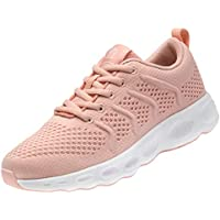 CAMEL CROWN Women Running Shoes Trail Fashion Sneakers Flyknit Comfy Walking Shoe Mesh Lightweight Athletic Gym Casual Sneaker for Girl
