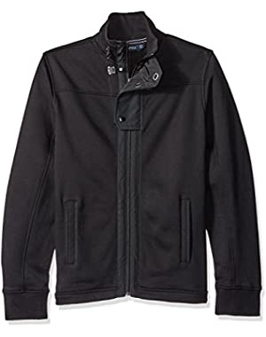 Men's Full-Zip Flap Jacket