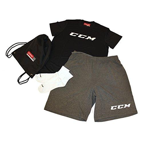 CCM Senior Dryland Kit Senior CCM schwarz-grau-weiß 85b032