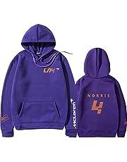 Tsingsa Landoo-Norris Sweatshirt met capuchon, herfst/winter, Formule 1 Race F1, Team Fans, Logo van het team mannen / vrouwen oversized