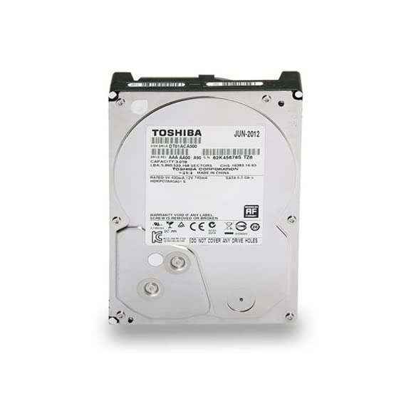 Toshiba 3.5-Inch 7200 RPM SATA3/SATA 6.0 GB/s Hard Drive 3 The SATA interface 7,200 RPM desktop series drives are targeted at desktop all-in-one and gaming PCs, home servers, external HDDs, and consumer electronics products such as set-top boxes and digital video recorders. Serial ATA (SATA) is a serial interface that can operate at speeds up to 6Gb/s.  SATA is scalable and enables easy integration, high performance, and efficient system designs. SATA is the evolutionary replacement for the Parallel ATA (PATA) storage interface. Ramp Load technology restricts the drive's recording head from touching the disk media, resulting in improved protection of the drive while being transported and less wear to the recording head.