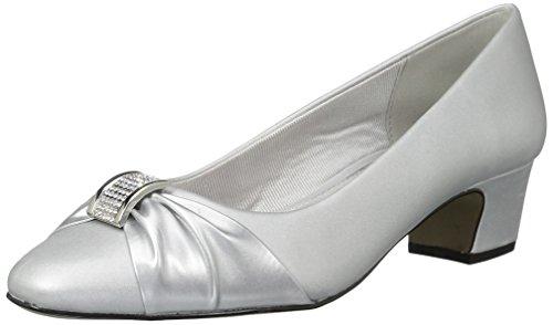 sole Easy Women's Street Eloise Easy Silver Dress Flex Pump satin Silver w dance q47OnCxB