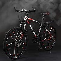 AISHFP Bicicleta de montaña para Adultos de 26 Pulgadas, Bicicleta ...