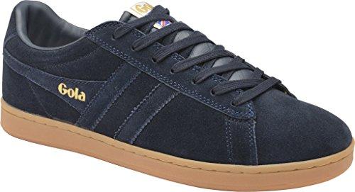 Gola Mens Equipe Suede Fashion Sneaker Navy/Navy/Gum HJ2GKXDKq