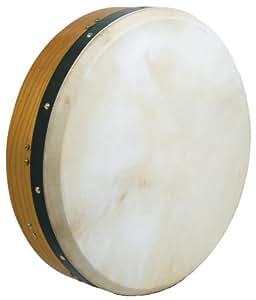 Glenluce Celtic Supplies - Tambor de marco tipo Bodhrán (40,6 cm/16 pulgadas, afinable)